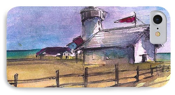 The Lighthouse IPhone Case by Diane Strain