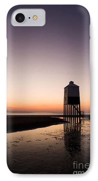 The Lighthouse On Legs Phone Case by Anne Gilbert