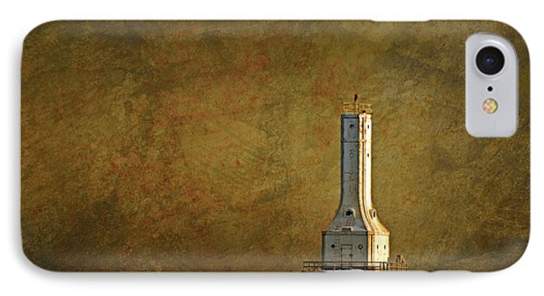 The Lighthouse - Port Washington IPhone Case by Mary Machare