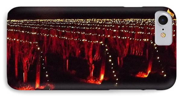 The Lighting Of The Vines IPhone Case by John Wartman