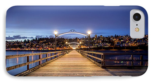 The Lights Of White Rock Beach - By Sabine Edrissi IPhone Case