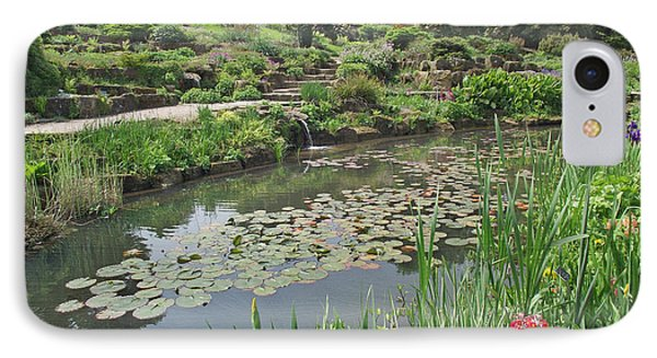 IPhone Case featuring the photograph The Lily Pond At Rhs Wisley by Jayne Wilson