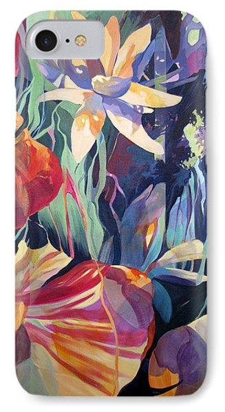 IPhone Case featuring the painting The Lily Weeps For Jan by Rae Andrews