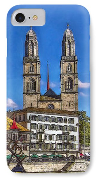 The Limmat City IPhone Case by Hanny Heim