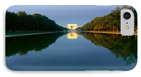 The Lincoln Memorial At Sunrise IPhone 7 Case by Panoramic Images