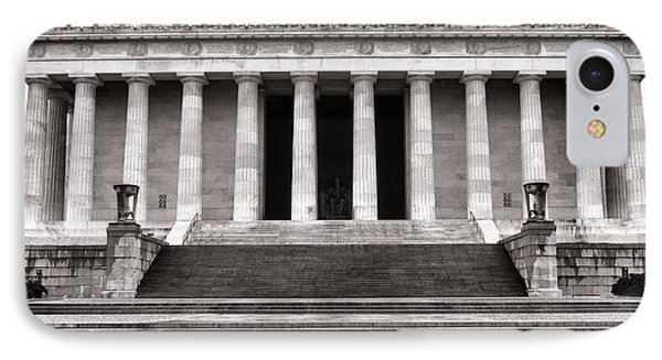 The Lincoln Memorial Phone Case by Olivier Le Queinec