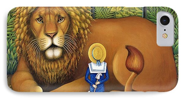 The Lion And Albert, 2001 IPhone Case