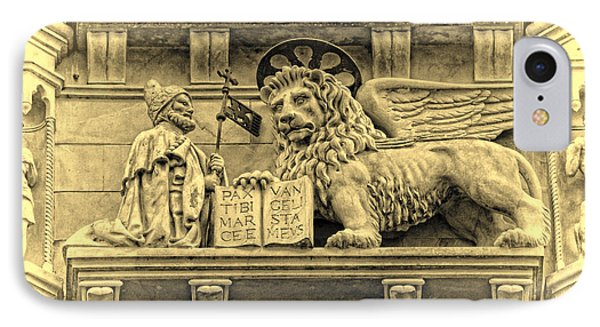 The Lion Of Saint Mark IIi Phone Case by Lee Dos Santos