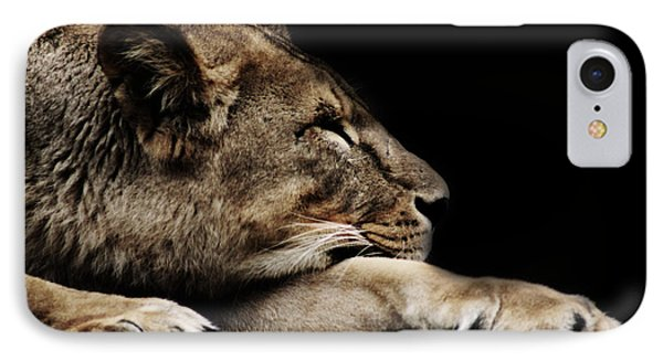 The Lion Sleeps Tonight IPhone Case by Martin Newman