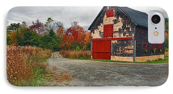 The Little Barn IPhone Case by Marcia Colelli
