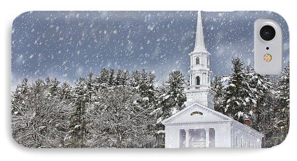The Little Chapel In Winter IPhone Case