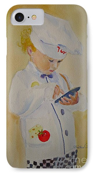 The Little Chef IPhone Case by Beatrice Cloake