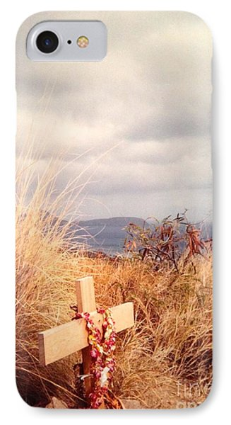 IPhone Case featuring the photograph The Little Cross by Carla Carson
