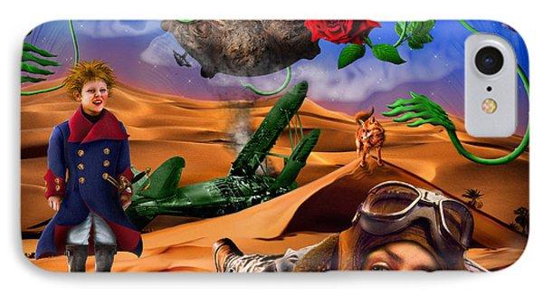The Little Prince - Le Petit Prince Phone Case by Alessandro Della Pietra