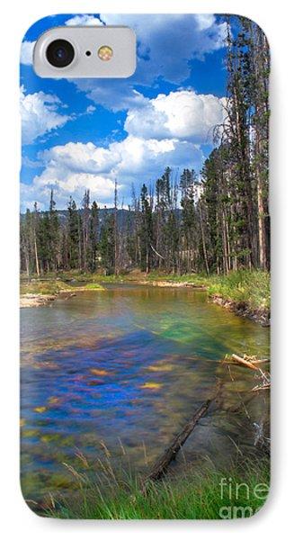 The Little Redfish Creek Phone Case by Robert Bales