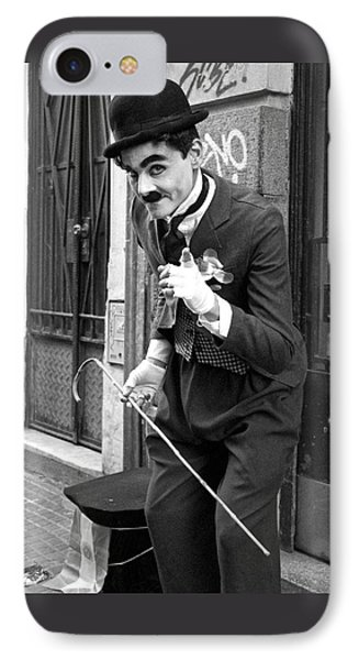 The Little Tramp IPhone Case