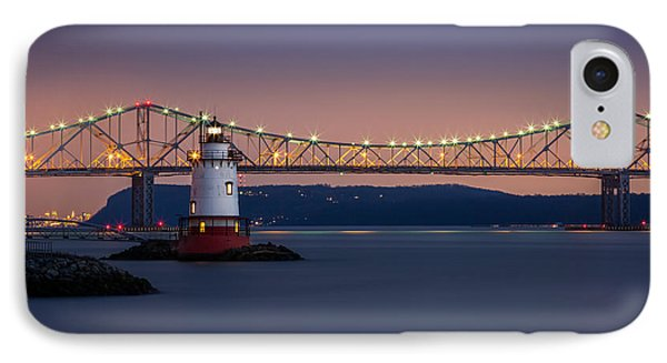 IPhone Case featuring the photograph The Little White Lighthouse by Mihai Andritoiu