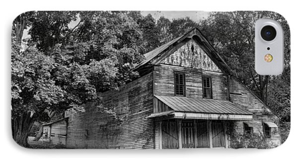 The Local Haunted House IPhone Case by Heather Applegate