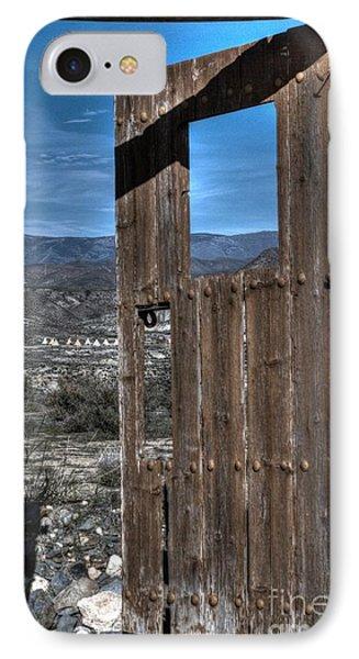The Lockless Door Phone Case by Heiko Koehrer-Wagner