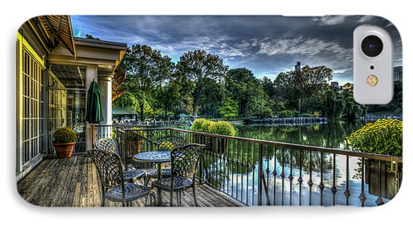 The Loeb Boathouse In Central Park IPhone Case by Rafael Quirindongo