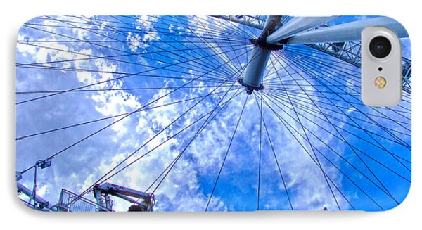The London Eye IPhone Case by Andrew Middleton