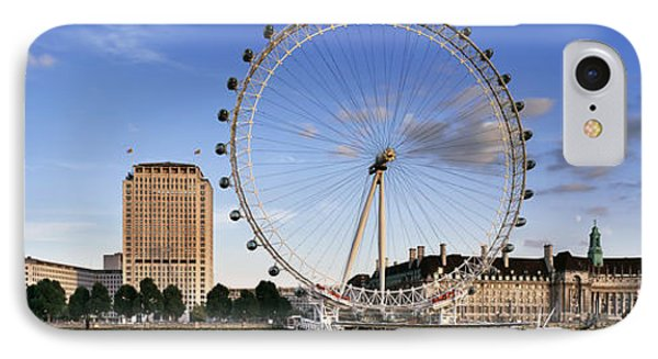 London Eye iPhone 7 Case - The London Eye by Rod McLean