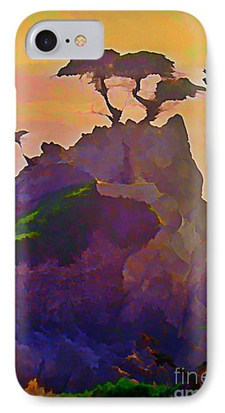 The Lone Cypress Phone Case by John Malone