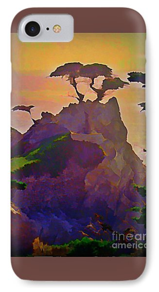 The Lone Cypress IPhone Case by John Malone