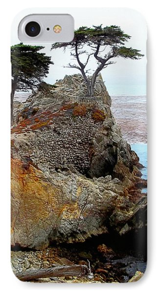 The Lone Cypress - Pebble Beach Phone Case by Glenn McCarthy Art and Photography