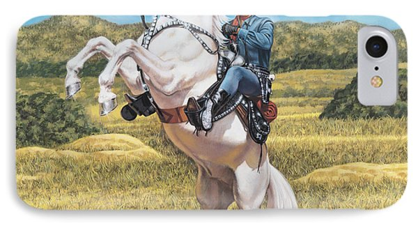 The Lone Ranger Phone Case by Dick Bobnick