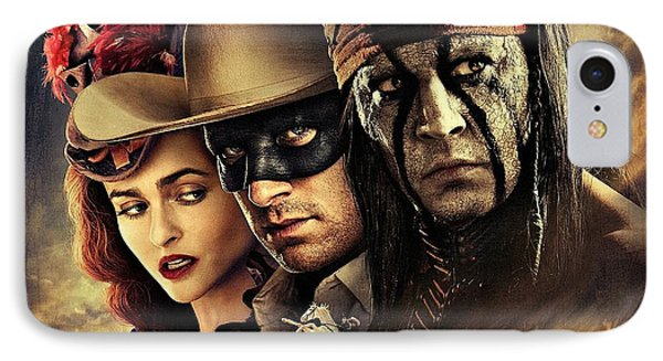 The Lone Ranger Phone Case by Movie Poster Prints