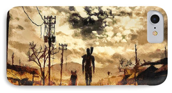 The Lone Wanderer IPhone Case