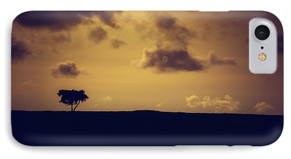 The Loneliness Of A Moorland Tree IPhone Case