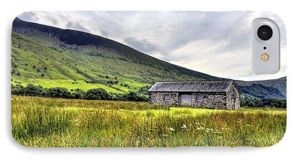The Lonely Barn IPhone Case