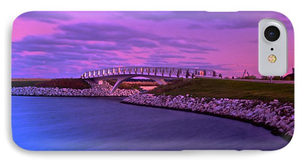 IPhone Case featuring the photograph The Lonely Bridge by Jonah  Anderson