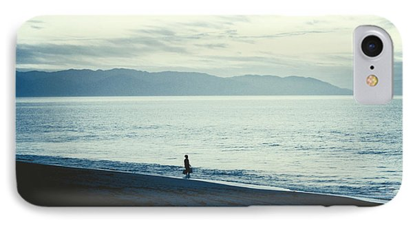 The Lonely Fisherman IPhone Case by Natasha Marco