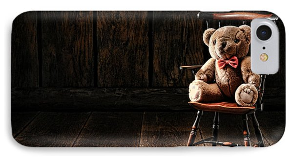 The Lonely Forgotten Bear IPhone Case by Olivier Le Queinec