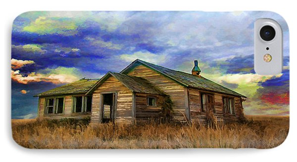 The Lonely House IPhone Case by Tyler Robbins