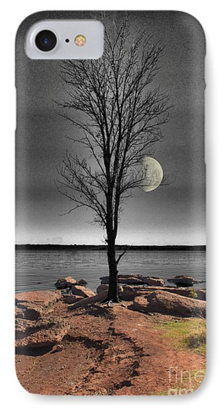 The Lonely Tree Phone Case by Betty LaRue