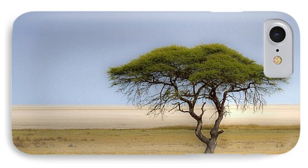 The Lonely Tree IPhone Case by Juergen Klust