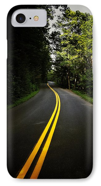 The Long And Winding Road Phone Case by Natasha Marco