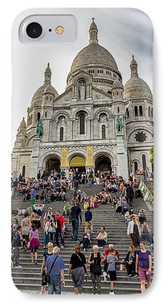 The Long Climb To The Basilica IPhone Case by Tim Stanley