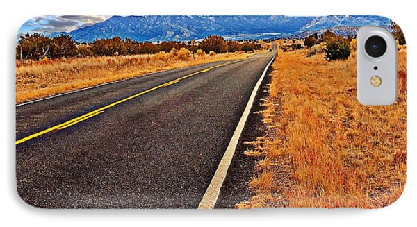 The Long Long Road IPhone Case by Bob Pardue