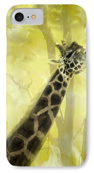 The Long Morning Stretch Phone Case by Diane Schuster