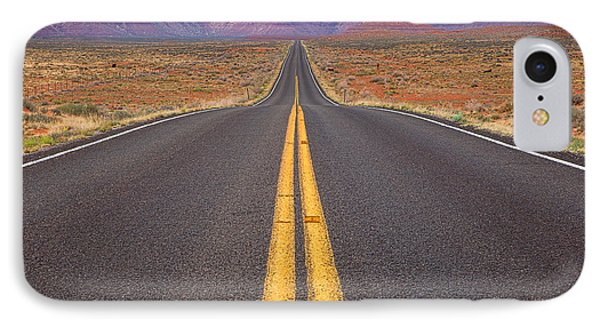 The Long Road Ahead IPhone Case by Jim Garrison