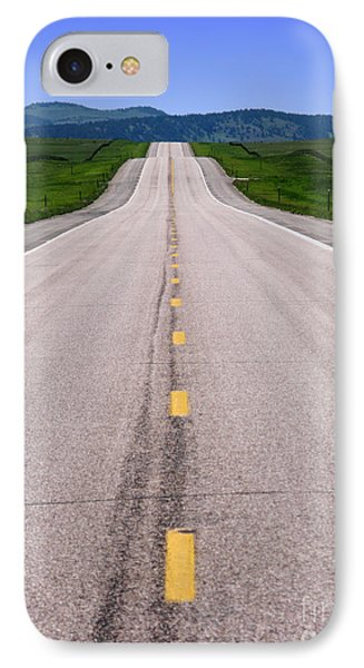 The Long Road Ahead Phone Case by Olivier Le Queinec