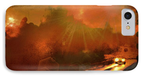 IPhone Case featuring the photograph The Long Road Home  by Fine Art By Andrew David