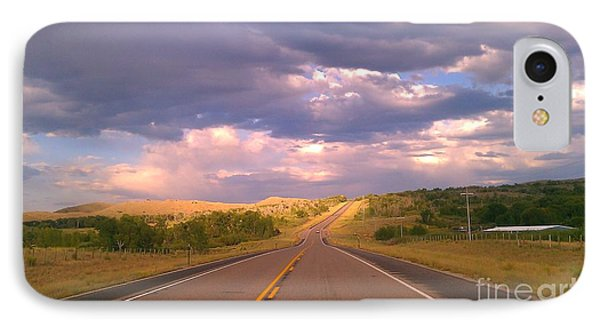 The Long Road Home IPhone Case by Chris Tarpening