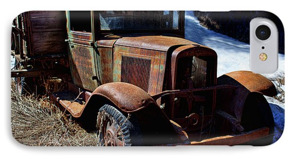 IPhone Case featuring the photograph The Long Road by Jim Garrison