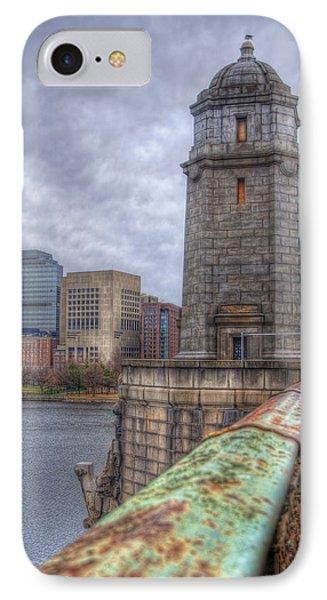 The Longfellow Bridge - Boston Phone Case by Joann Vitali